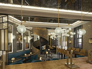 Restaurant floor CGI's:   by Design by UBER