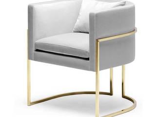 Decordesign Interiores Dining roomChairs & benches Grey