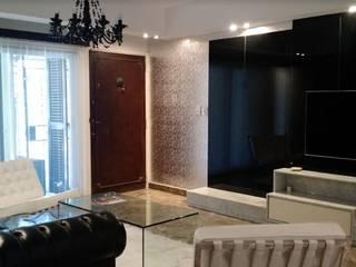 现代客厅設計點子、靈感 & 圖片 根據 Arquimundo 3g - Diseño de Interiores - Ciudad de Buenos Aires 現代風