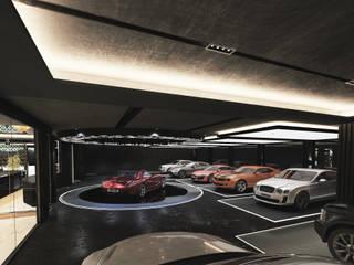 Sub-Terranean Extravagant Leisure Complex:   by Design by UBER