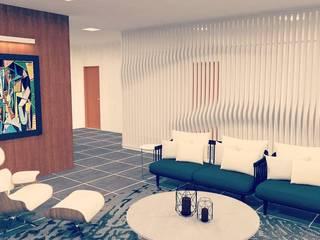 Projeto SPA Salas de estar modernas por HPaleari Arquitetura Moderno