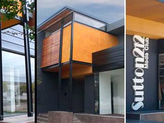 Local comercial y departamentos en Alcorta Oficinas y comercios de estilo moderno de Metamorfosis arquitectura y diseño Moderno