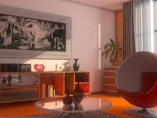 Ruang Keluarga oleh Plano 13