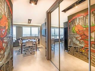Projeto de Interiores | Estilo Industrial em Sala Comercial Espaços comerciais industriais por BG arquitetura | Projetos Comerciais Industrial