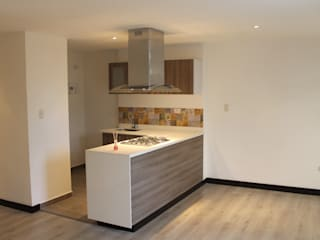 RA-30/APARTA-ESTUDIOS Cocinas modernas de IngeniARQ Arquitectura + Ingeniería Moderno