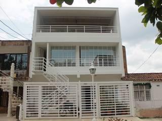 Casas de estilo  por IngeniARQ Arquitectura + Ingeniería