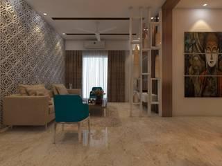 Living room Modern living room by Golden Spiral Productionz (p) ltd Modern