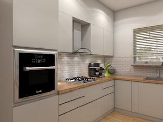 Built-in kitchens by The Cobblestone Studio,