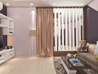 2 BHK Interior Design In Kolkata Minimalist dressing room by Best Luxury Interiors Minimalist