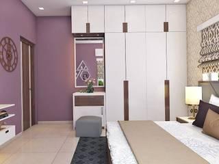 2 BHK Interior Design In Kolkata Minimalist style doors by Best Luxury Interiors Minimalist
