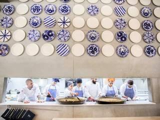 Restó Àtic - PALAU ALAMEDA Gastronomía de estilo mediterráneo de Artelux Mediterráneo