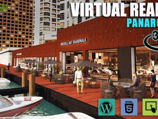 360 Virtual Reality Mobile Based Application Development by Yantram Architectural Visualisation Studio, Toronto - Canada Modern Oteller Yantram Architectural Design Studio Modern