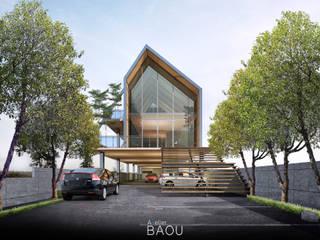 JOGJA CAFE, GUEST HOUSE, & WAREHOUSE:  Restoran by Atelier BAOU+