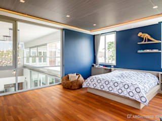 D' Architects Studio BedroomAccessories & decoration