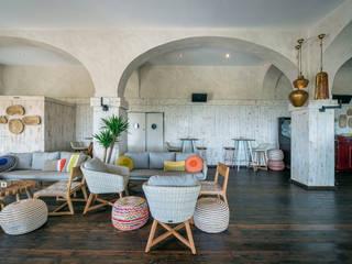 Idearte Marta Montoya Ruang Makan Gaya Mediteran