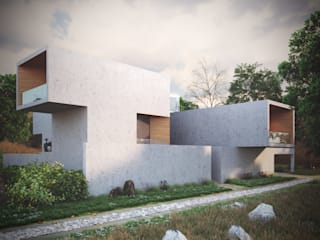 -:  Houses by Studio Gritt