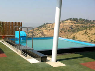 Roof top swimming pools by arrdevpools Eclectic