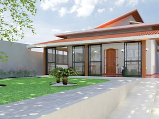 Reforma de telhado por Daniela Ponsoni Arquitetura