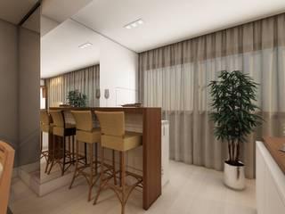 Apto Higienópolis Salas de jantar clássicas por Débora Pagani Arquitetura de Interiores Clássico