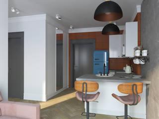 Минималистичный уют: Кухни в . Автор – АкмеЗавод