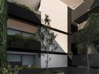 Varandas, alpendres e terraços modernos por WERHAUS ARQUITECTOS Moderno