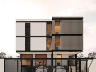 Casas modernas por WERHAUS ARQUITECTOS Moderno