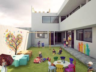 WERHAUS ARQUITECTOS Jardines de estilo moderno