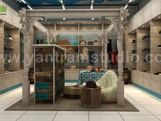 Semi-Classic 3D Cloth Shop Interior Modeling ideas by Yantram Architectural Visualisation Studio, Perth - Australia Yantram Architectural Design Studio Klasik