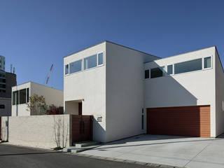 分節と連続の家 モダンな 家 の 株式会社Fit建築設計事務所 モダン