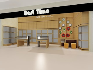 Interior Toko Best Time-Sadira Plaza-Pekanbaru von RF Arch & Design