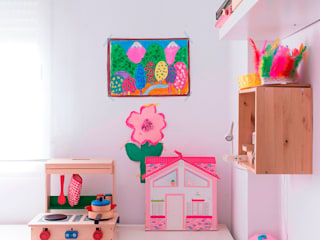 scandinavian Nursery/kid's room by Isabel Escauriaza