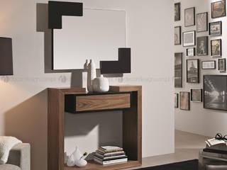 Decordesign Interiores Corridor, hallway & stairsAccessories & decoration Black