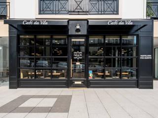 Remodelação do Café da Vila, pastelaria em Fátima Espaços de restauração modernos por Oficina Design Moderno