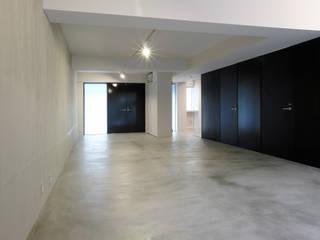 一級建築士事務所アトリエソルト株式会社 Modern Oturma Odası