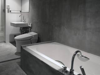 一級建築士事務所アトリエソルト株式会社 Modern Banyo