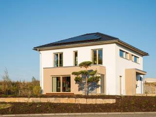 Projekty,  Dom prefabrykowany zaprojektowane przez FingerHaus GmbH - Bauunternehmen in Frankenberg (Eder)