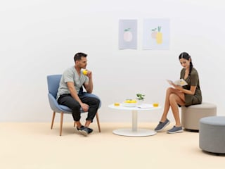 Noom, Chair that combines tailoring and 3D technology de Alegre Design Moderno