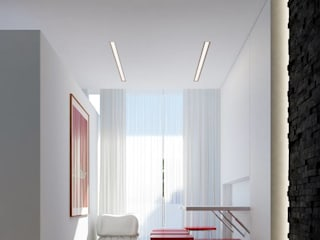 Smart Dining Room/ Reading Area:  Dining room by L'Atelier du Caire