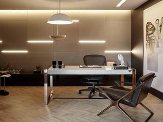 Ambiente Contemporâneo de um Consultório Médico Modelo por BG arquitetura | Projetos Comerciais Moderno