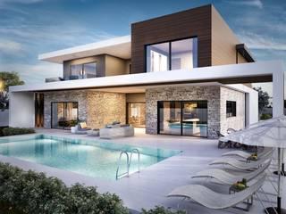 2. kat planı Modern Evler ANTE MİMARLIK Modern