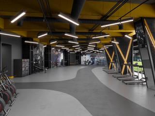 Modern gym by Dündar Design - Mimari Görselleştirme Modern