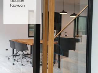 office design:  書房/辦公室 by XY DESIGN - XY 設計
