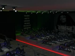 Conceptualización Club de Ciclismo para interiores:  de estilo  por Re: Project SAS