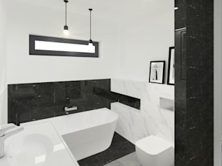 Modern Bathroom by Mleczko architektura Modern