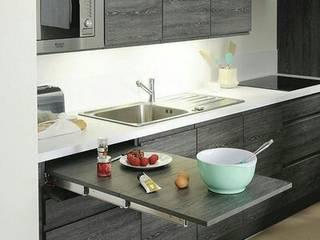Cocinas de estilo moderno de CRAT Moderno