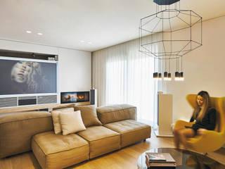 Moderne Wohnzimmer von Sammarro Architecture Studio Modern