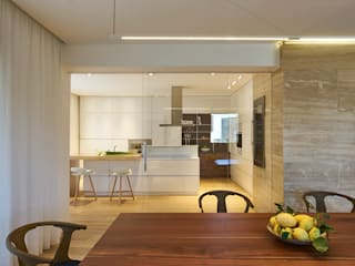 Private Apartment in Crotone Cucina moderna di Sammarro Architecture Studio Moderno