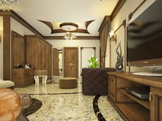 Dormitorios clásicos de Monnaie Interiors Pvt Ltd Clásico