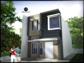 H20 Exterior Rumah Minimalis Oleh Lims Architect Minimalis
