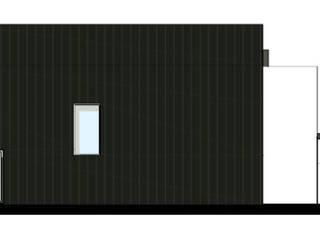 Fachada Lateral:   por Teresa Ledo, arquiteta